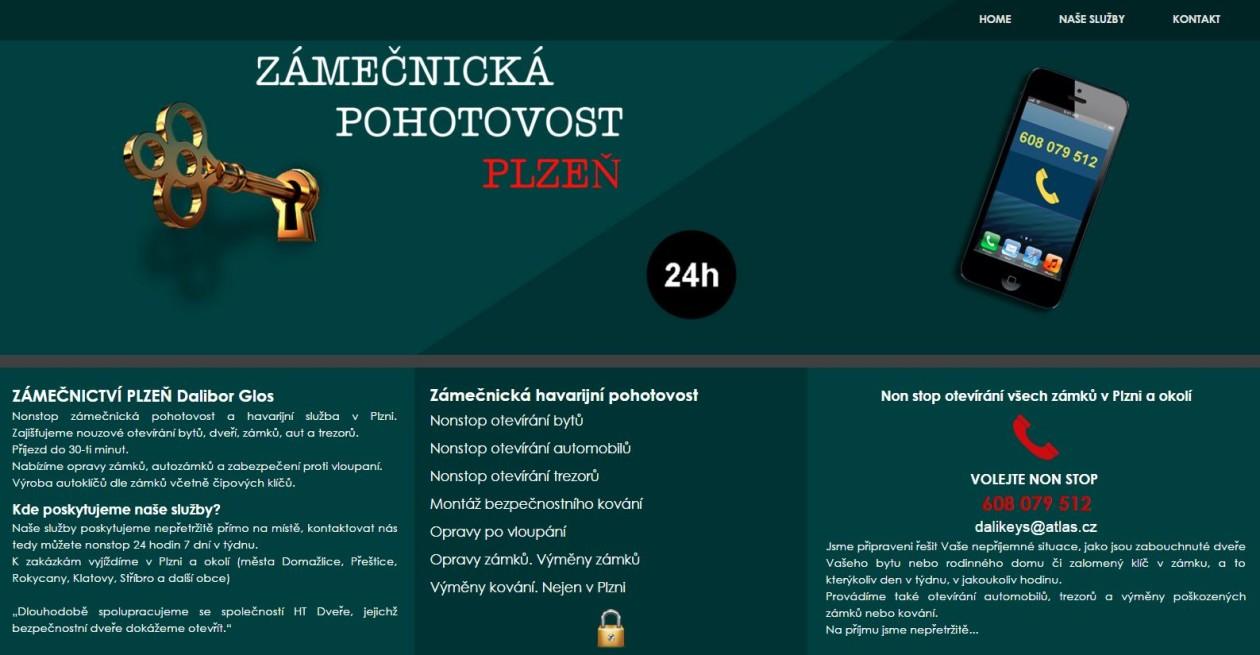 Zámečník Plzeň