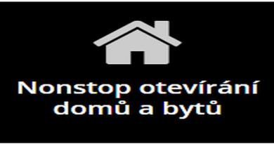 Nonstop otevírání domů a bytů