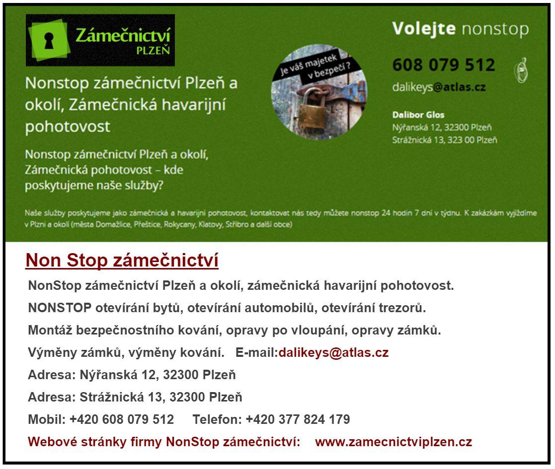 zámečnická pohotovost Plzeň
